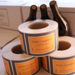 étiquetage Millésime 2014 domaine Gallois à Gevrey Chambertin
